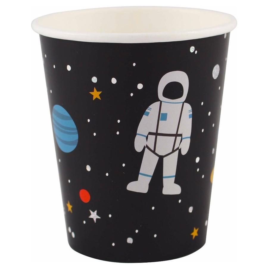 "Ava & Yves - 8 Pappbecher ""Astronaut"""