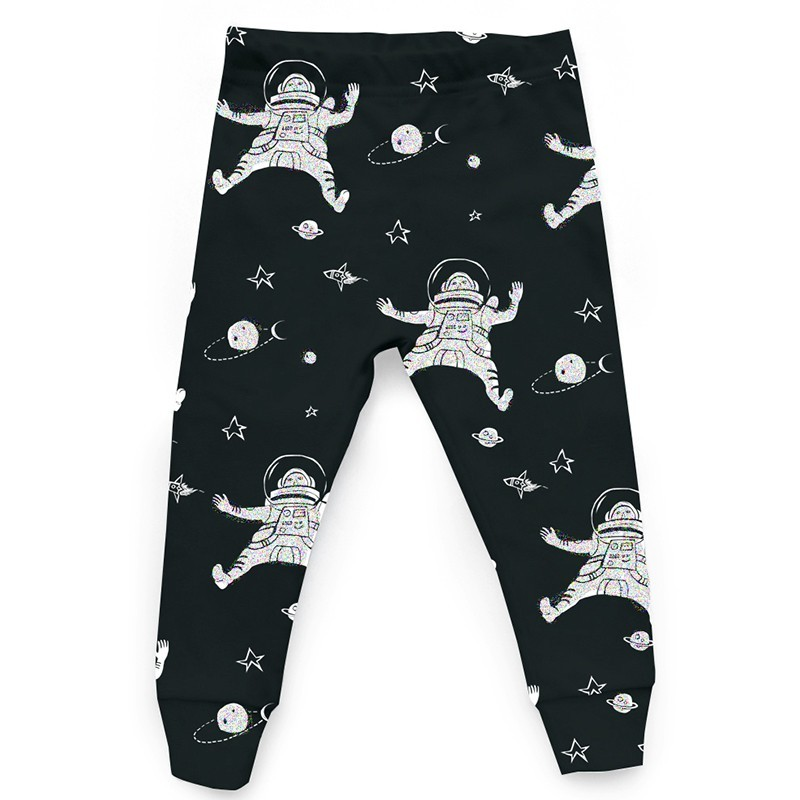 "Tobias and the Bear - Leggings ""Astronaut"" Schwarz"