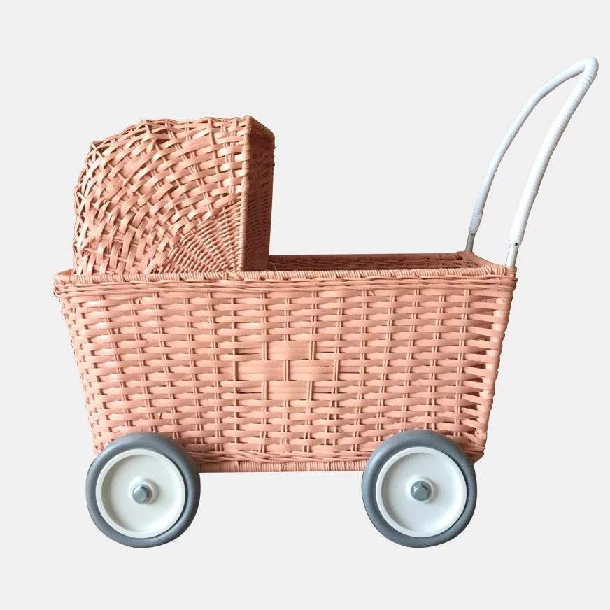 Olli Ella - Puppenkinderwagen Rosé