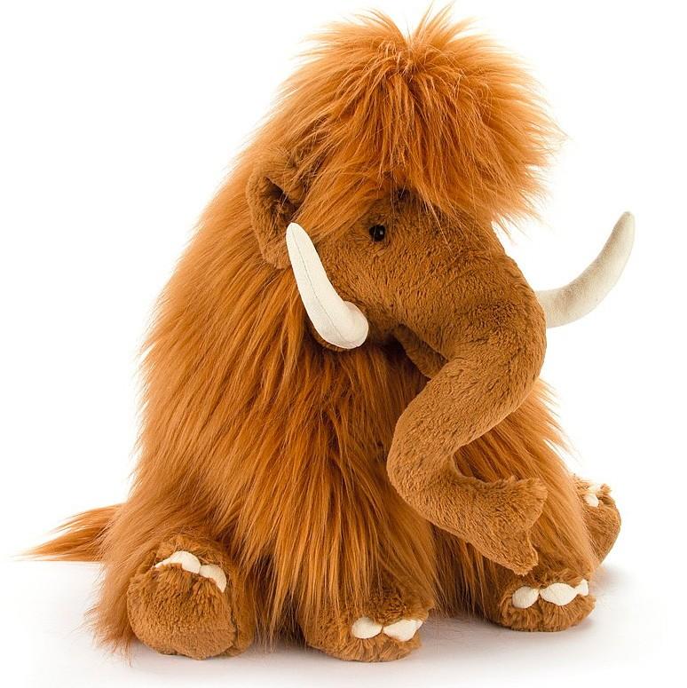 Jellycat - Großer Mammut zum kuscheln 37cm