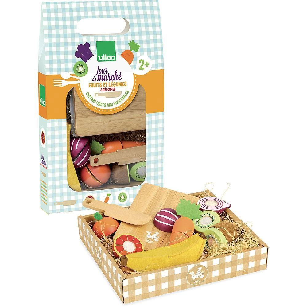 Vilac - Kaufmannsladen Obst und Gemüse