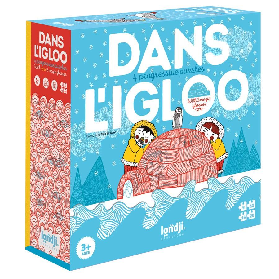 "Londji - 4 Magische Puzzles ""Im Igloo"""