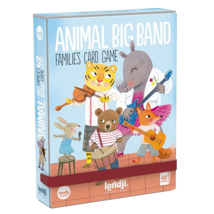 Londji - Kartenspiel Animal Big Band