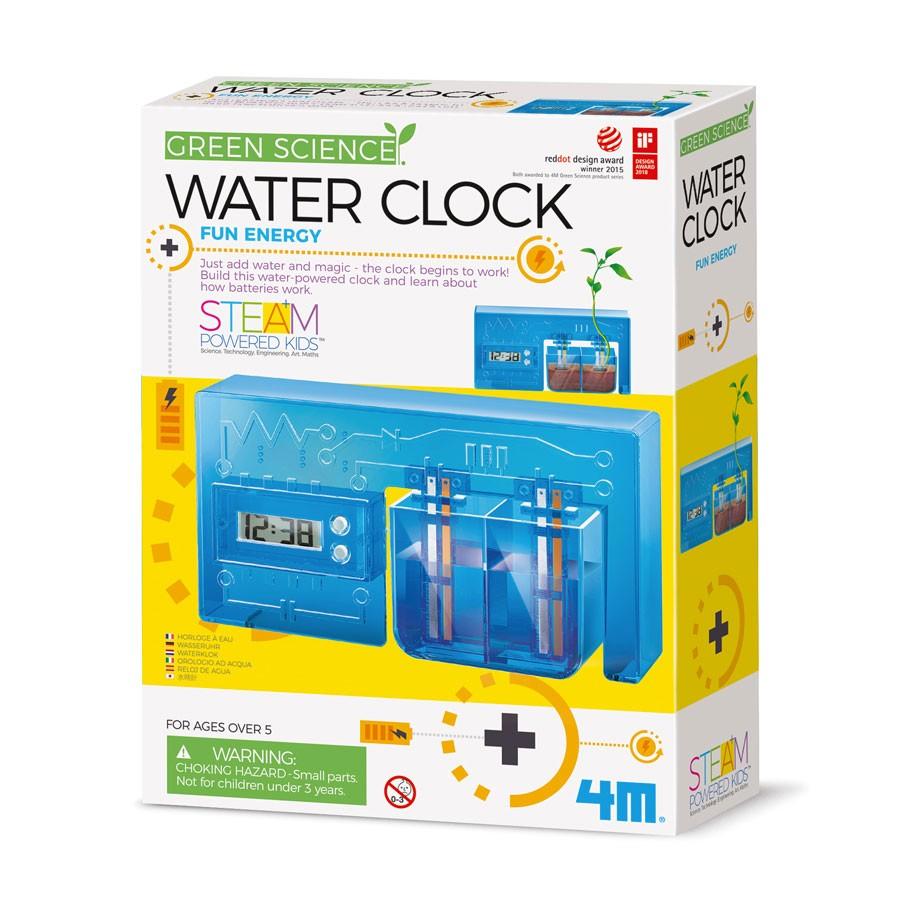 4M Green Science - Bastelset Umweltfreundliche Wasseruhr