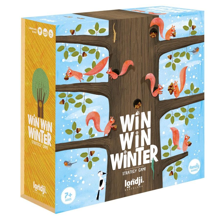 "Londji - Spiel ""Win Win Winter"" ab 7 Jahre"
