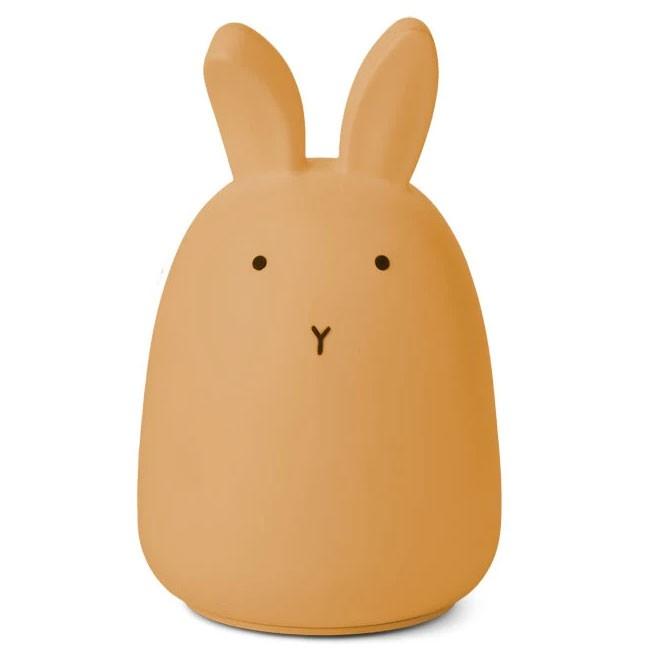 Liewood - Nachtlicht Winston Rabbit Yellow Mellow