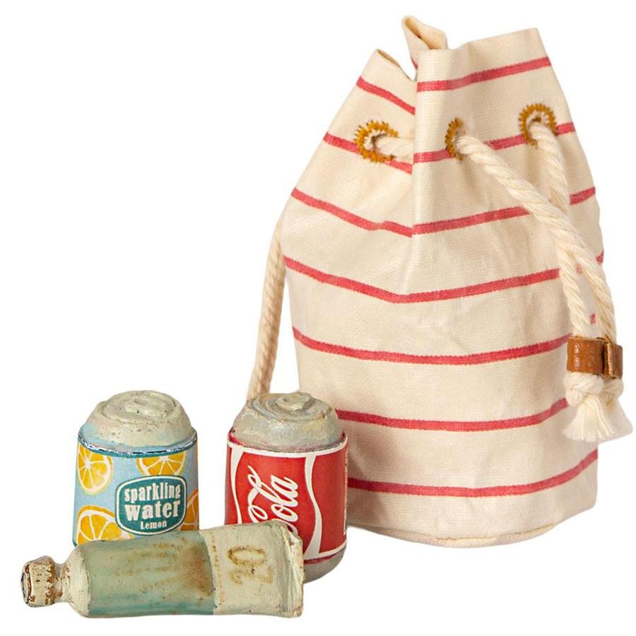 Maileg - Strandtasche mit Zubehör