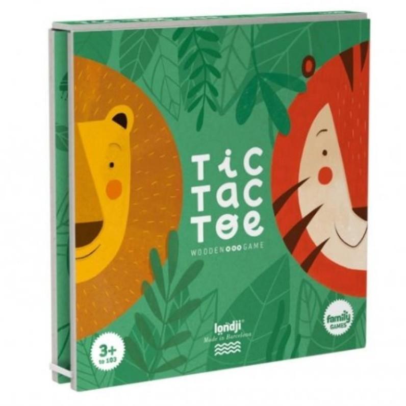 """Londji - Tic Tac Toe """"Löwe und Tiger"""""""