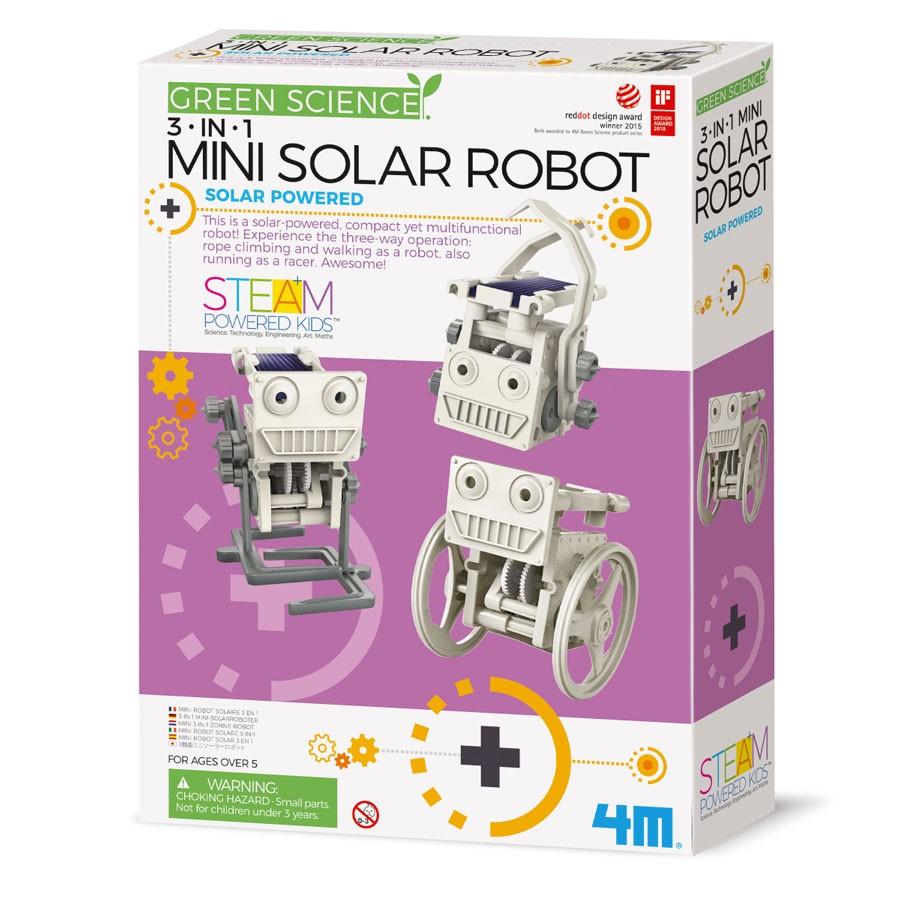 4M Green Science - Mini Solar Roboter 3 in 1