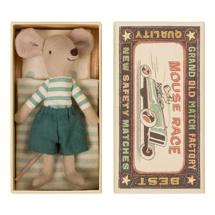 """Maileg - Maus in der Schachtel """"Großer Bruder"""""""