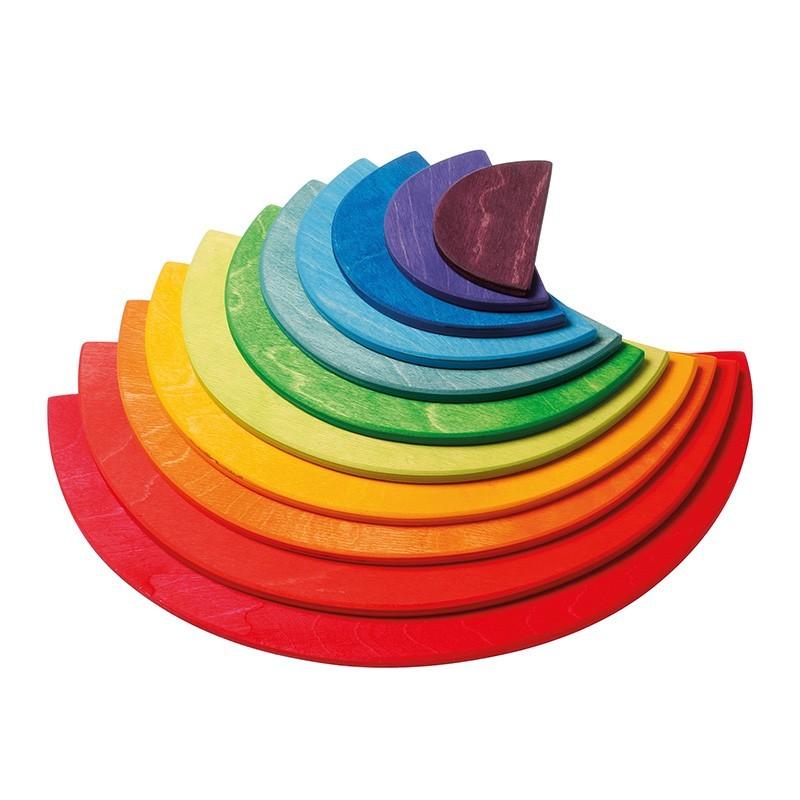 Grimm's Spielzeug - Große Halbkreise Regenbogen