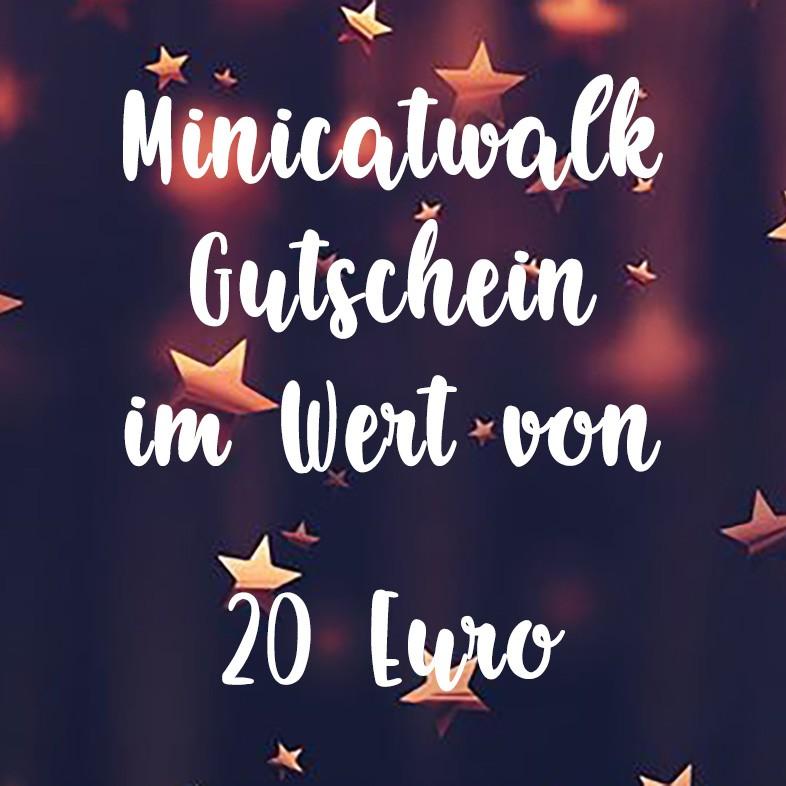 Minicatwalk Online Gutschein 20 Euro