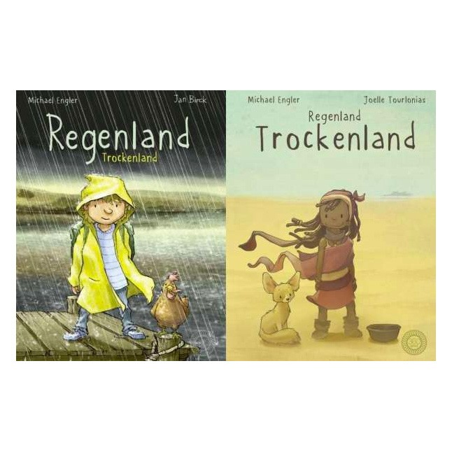 Kinderbuch - Wendebuch Regenland Trockenland
