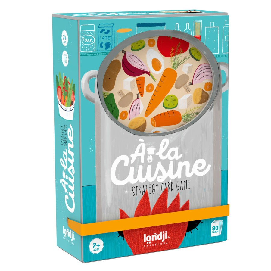 """Londji - Kartenspiel """"Á la Cuisine"""""""