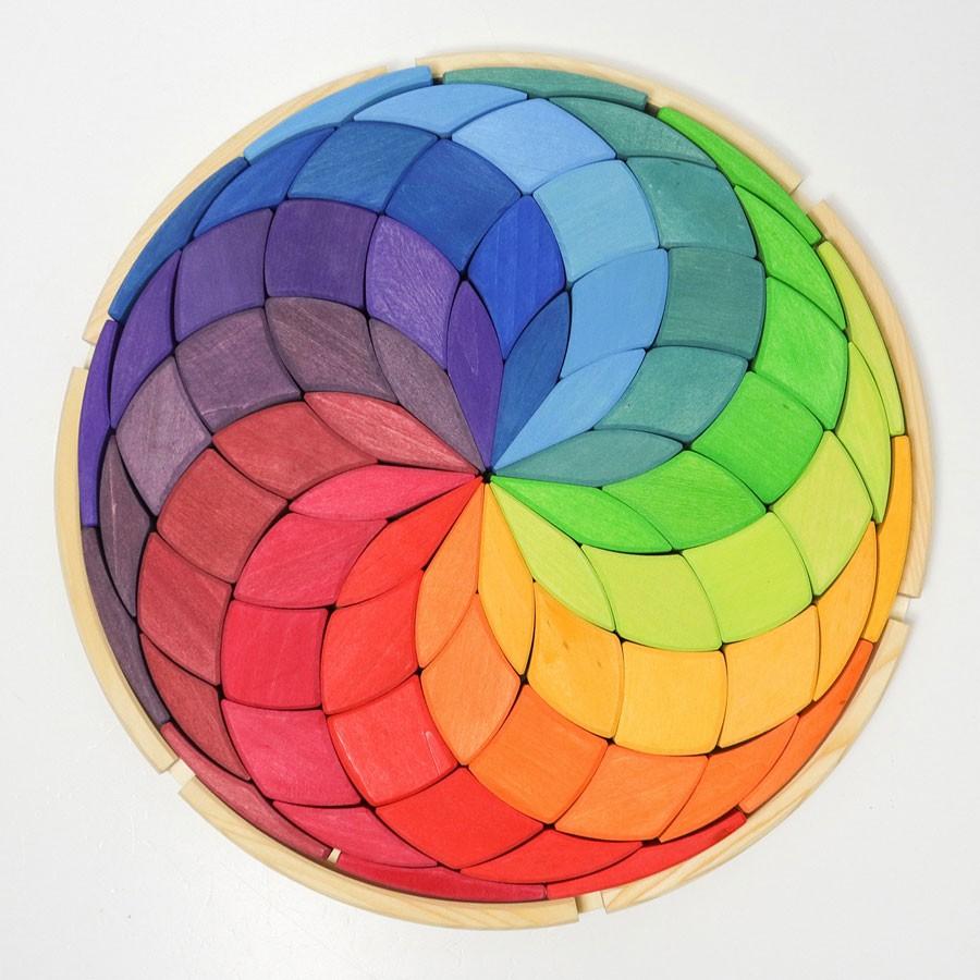 Grimm's Spielzeug - Große Farbspirale aus Holz