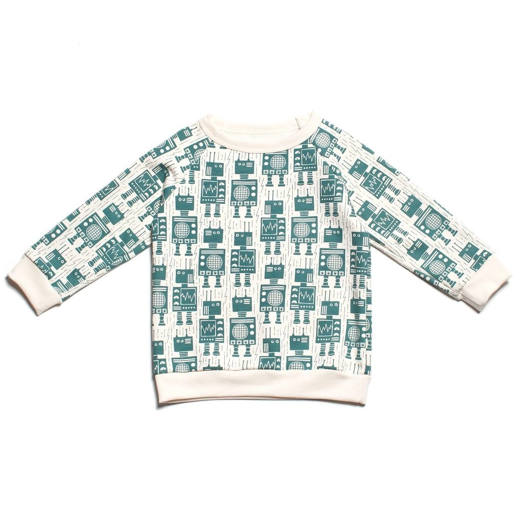 "Winter Water Factory - Sweater ""Roboter"""