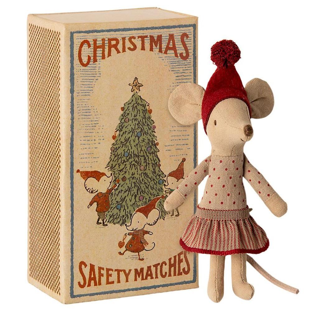 Maileg - Weihnachtsmaus Mädchen Große Schwester