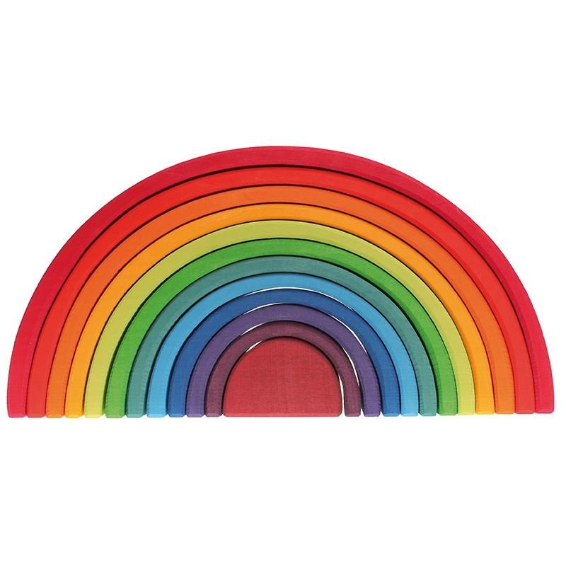 Grimm's Spielzeug - Großer Regenbogen aus Holz
