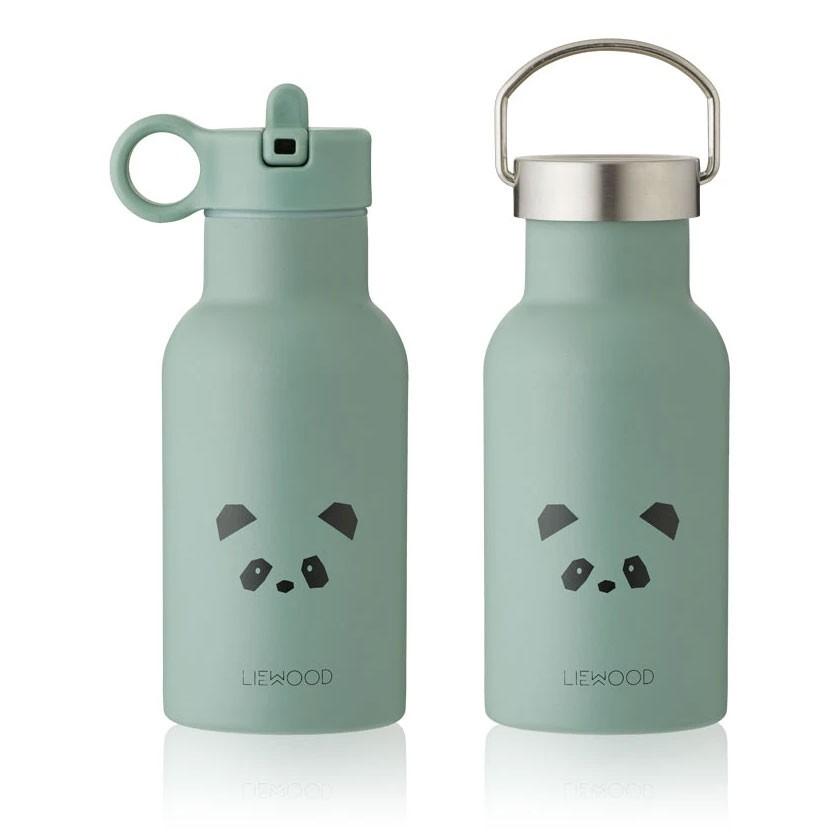 Liewood - Trinkflasche Panda Anker Peppermint