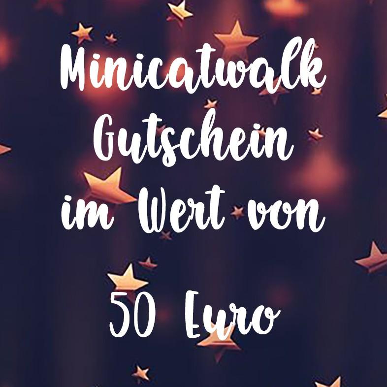 Minicatwalk Online Gutschein 50 Euro