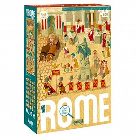 """Londji - Puzzle """"Go to Rome"""""""