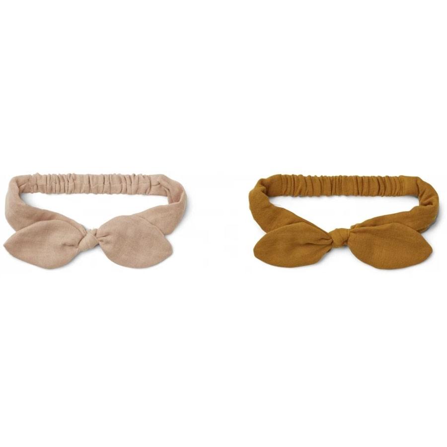 Liewood - 2 Haarbänder Henny Rose Mustard Mix 1-2 Jahre
