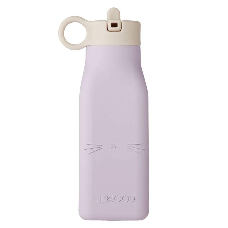 Liewood - Trinkflasche Warren Cat Light Lavender