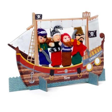"Londji - Fingerpuppen ""Piraten"""