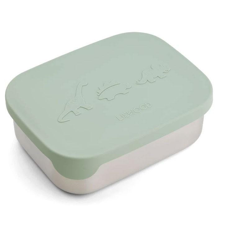 Liewood - Arthur Lunch Box Dino Dusty Mint