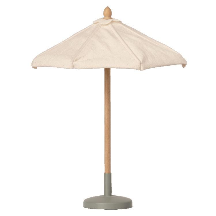 Maileg - Sonnenschirm für Mäuse Creme 27cm