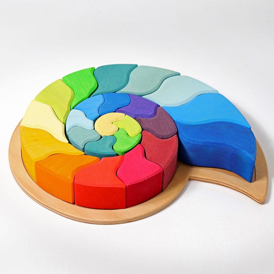 Grimm's Spielzeug - Bauspiel Ammonit
