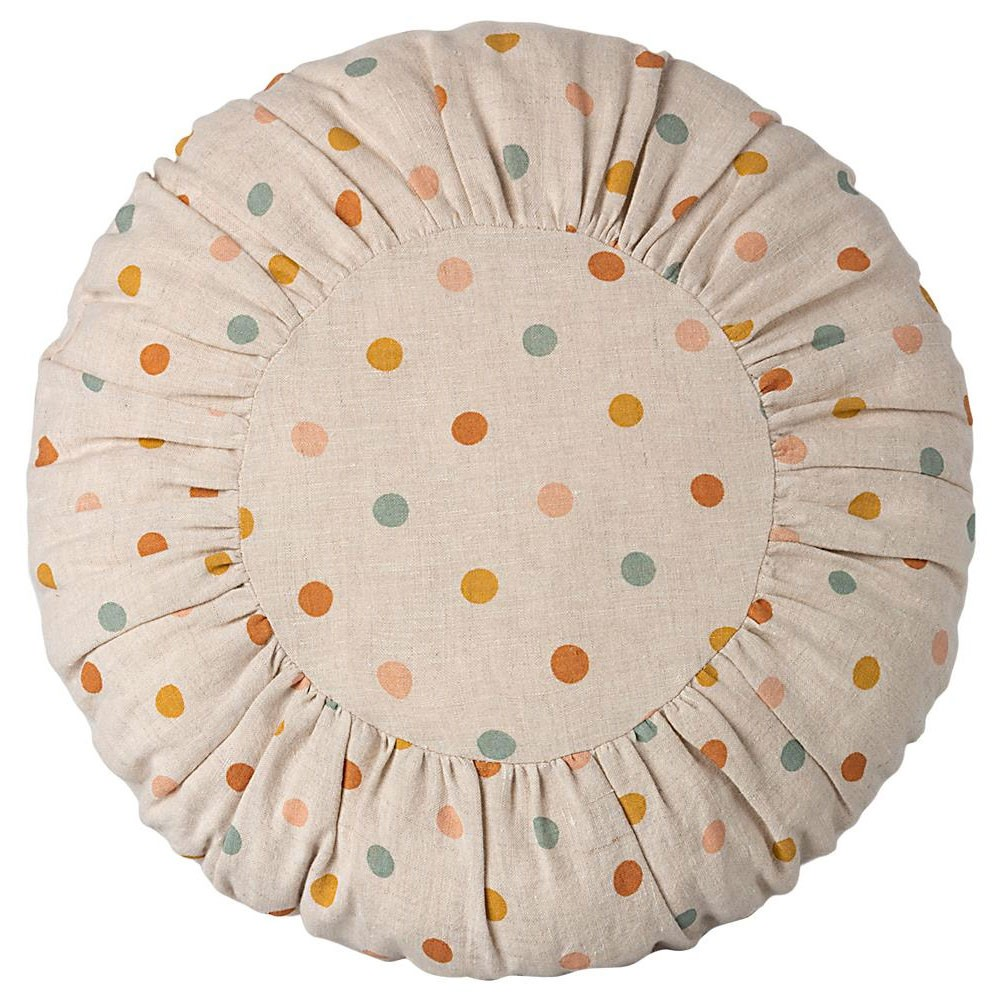 Maileg - Großes rundes Kissen mit Tupfen