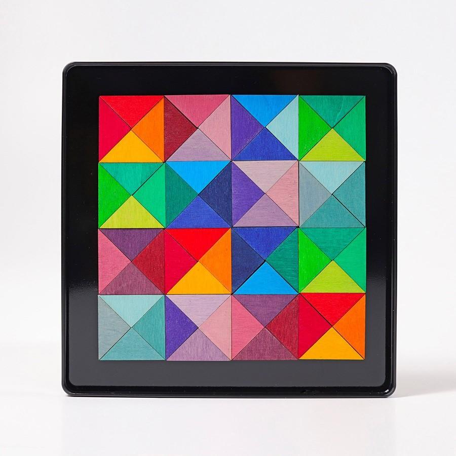 Grimm's Spielzeug - Magnetspiel Dreiecke