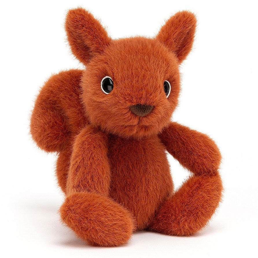 Jellycat - Fuzzle Eichhörnchen