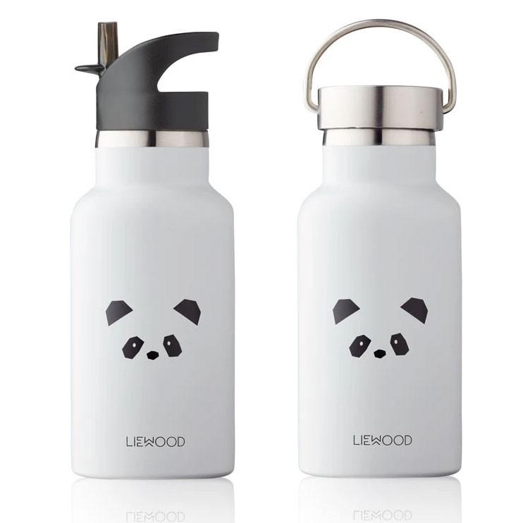 Liewood - Trinkflasche Panda Anker Creme