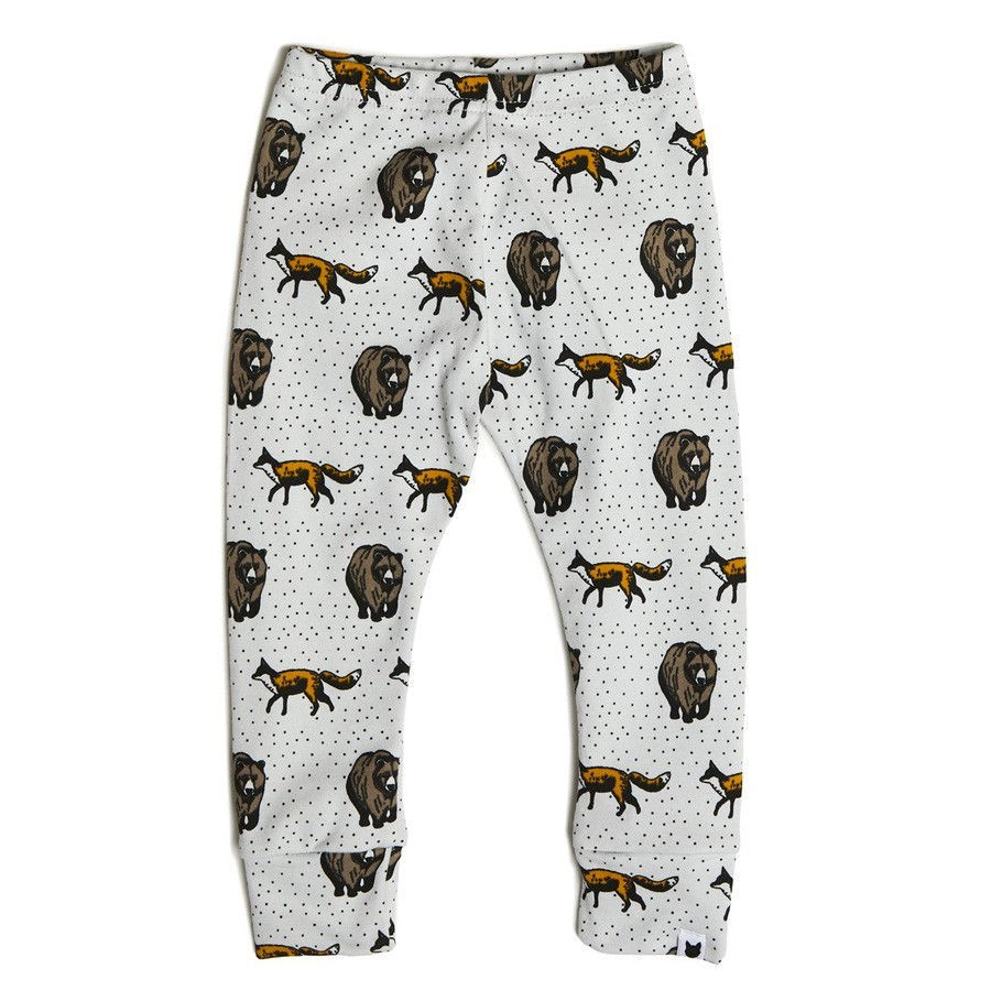 "Tobias & the Bear - Leggings ""Fox and Bear"""