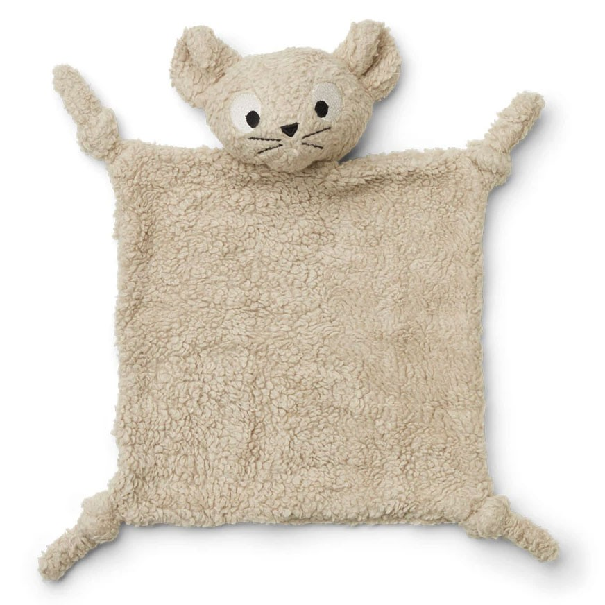Liewood - Kuscheltuch Lotte Mouse Pale Grey