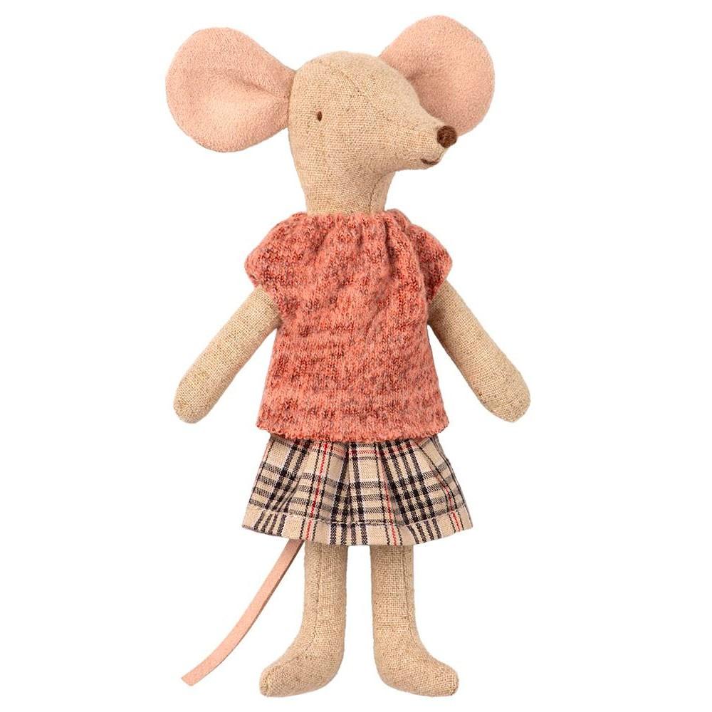Maileg - Mama Maus mit Strickpulli