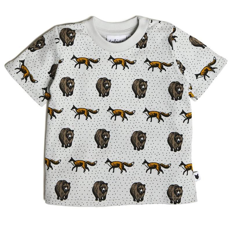 "Tobias & the Bear - T-Shirt ""Fox and Bear"""