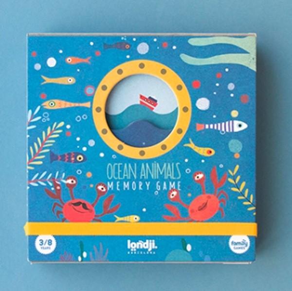 Londji - OCEAN ANIMALS MEMO