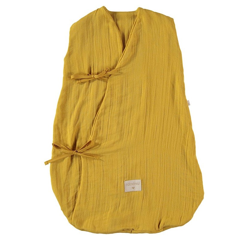 Nobodinoz - Babyschlafsack Dreamy Summer Farniente Yellow