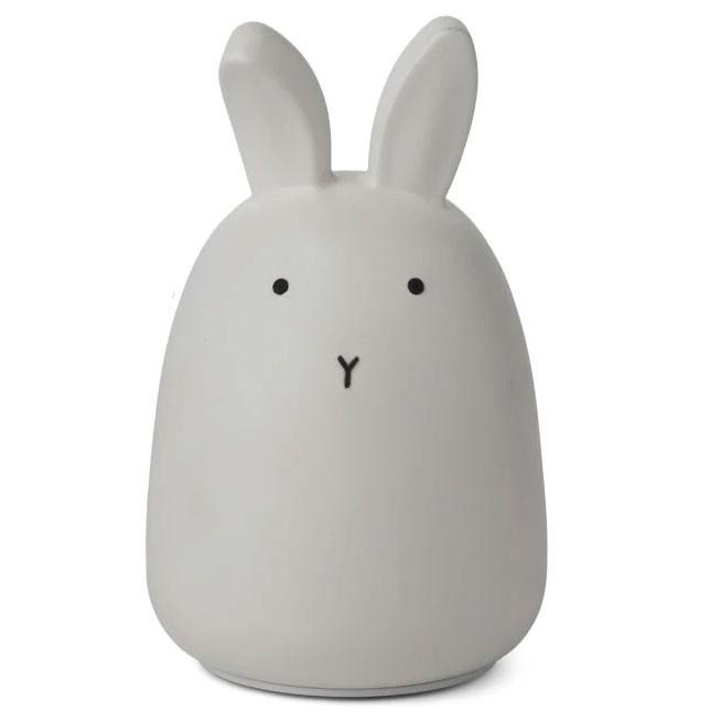 Liewood - Nachtlicht Winston Rabbit Dumbo Grey
