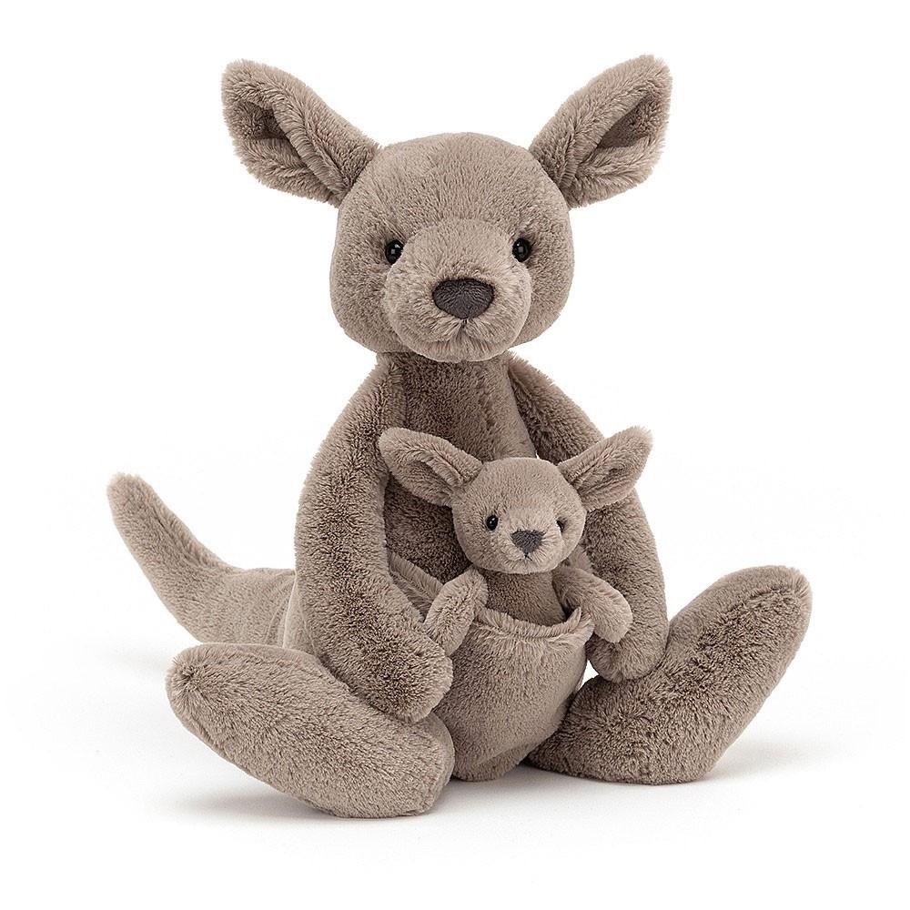 Jellycat - Känguru Kara mit Baby