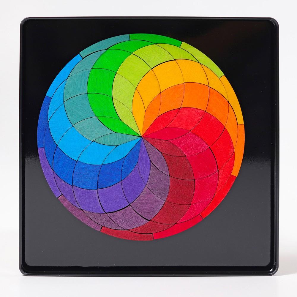 Grimm's Spielzeug - Magnetspiel Farbspirale