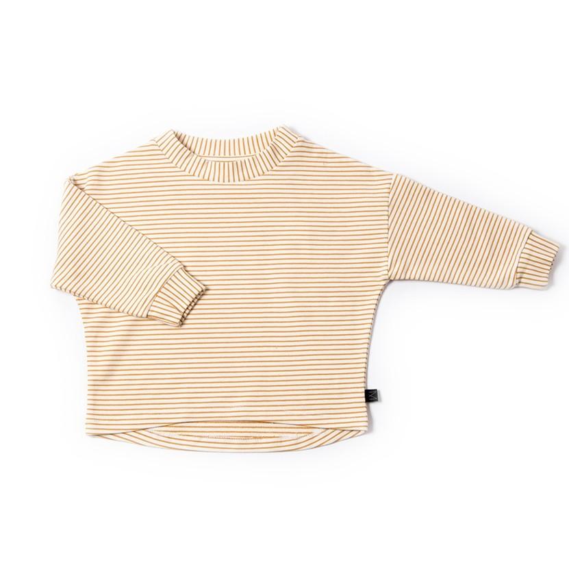 Monkind - Gestreifter Sweater in Ocker