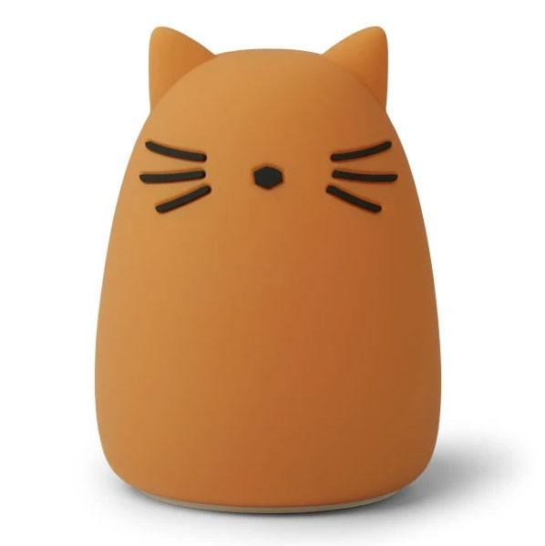 Liewood - Nachtlicht Cat Winston Mustard