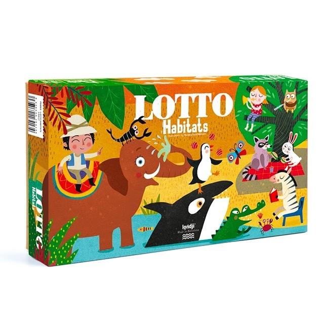 "Londji - Lotto Spiel ""Lebensräume"""