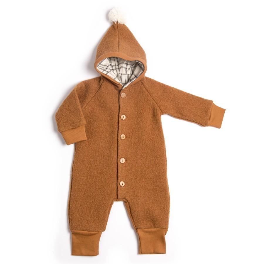 Monkind - Baby Kuschelanzug mit Kapuze