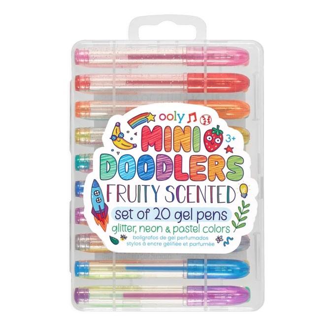 OOLY - 20 Mini Doodlers Gelstifte mit Duft