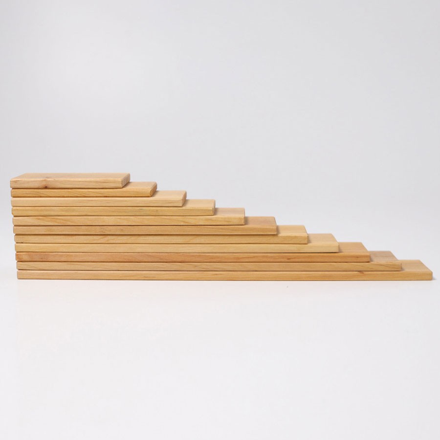 Grimm's Spielzeug - Bauplatten Natur